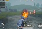 和平精英:新版本丧尸来袭,新增新武器喷火枪, 范围伤害火力猛!