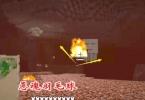 我的世界340: 为了复活末影龙, 我找到恶魂跟它玩起火焰羽毛球