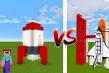 我的世界:模型机vs真火箭!火箭和图片上的一样?技术见长