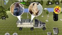 重型越野卡车模拟器 每个关卡驾驶不同的卡车 驾驶动物园运输车