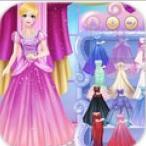 她穿上公主装游戏